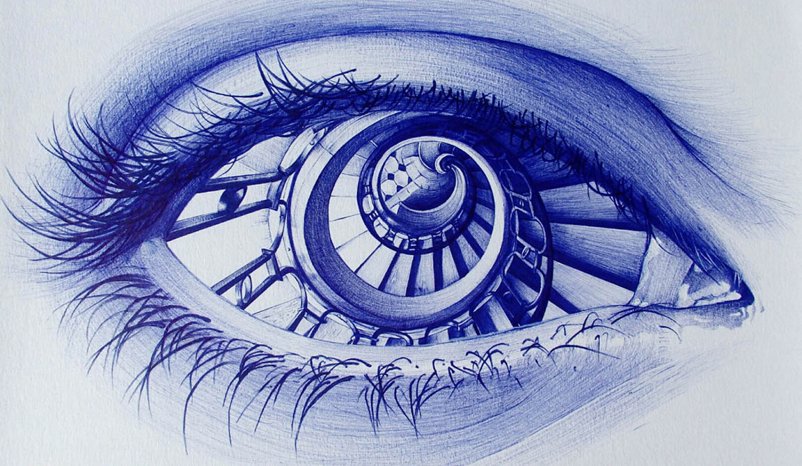 photorealistic pencil and ballpoint pen drawings animation boss