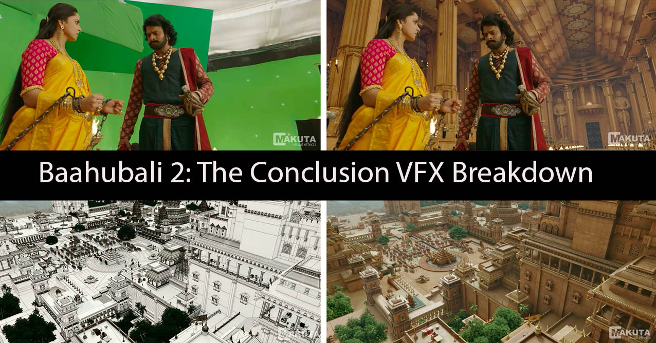 Baahubali 2: The Conclusion VFX Breakdown - Animation Boss